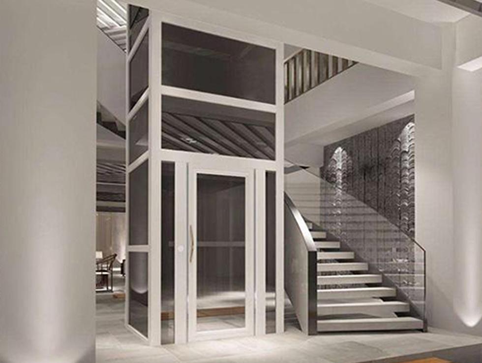 牵引式别墅电梯