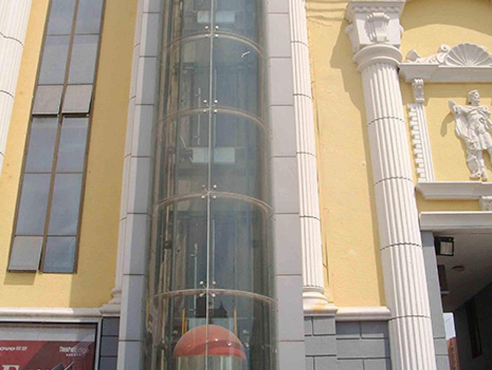 观光式电梯