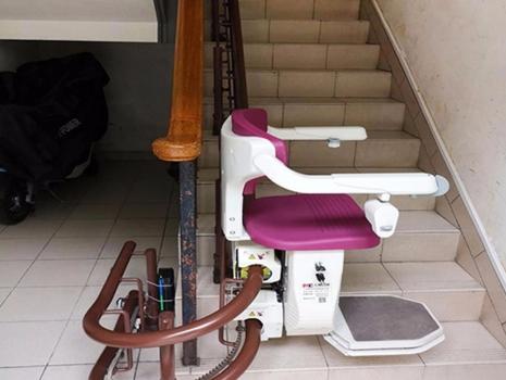 座椅式升降平台